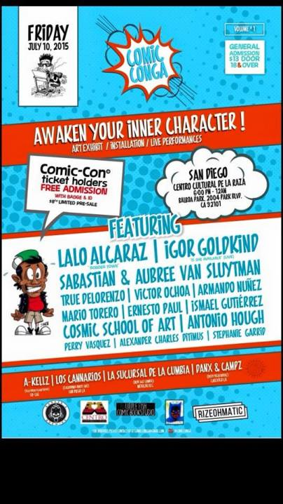 Comic Conga